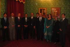 Lord & Lady Sheikh's Dinner in the House of Lords