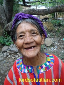 Life is difficult, but this woman smiles through her tears in San Marcos la Laguna