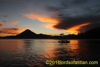 View of Lake Atitlán from Jaibalito