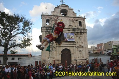 Like much  of Guatemala,  Joyabaj, El Quiché celebrates its patron saint August 15th. However in other parts, the celebration is for the Virgin of the Assumption (la Asunción), while  in Joyabaj the Virgin of Transit is patron. Although the Dance of the Flying Pole (Palito Volador) is extremely dangerous, children of five and six years old participate.