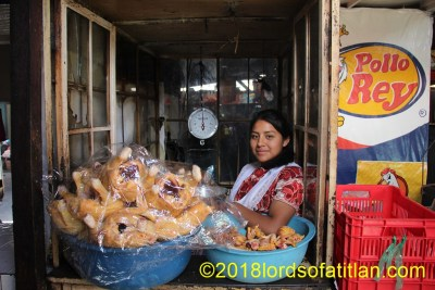 Despite the wide variety of food products in the Demo, chicken is Guatemala´s overall favorite.
