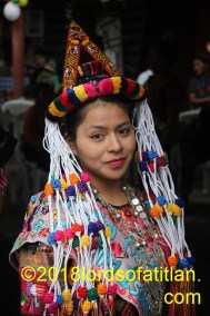Cristina was the former indigenous queen of Zunil and therefore speaks k'iche'. She also celebrates Santa Catalina de la Alejandría, November 25.