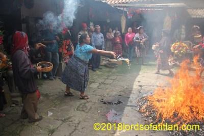 Pure magic in the fiesta of Aloc Mam, Zunil