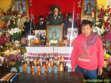 I thought Evaristo´s sweatshirt funny at the time, but I didn´t realize that it was also prophetic. He died very young on January 15th, 2017, the feast day of Guatemala´s own Cristo Negro of Esquipulas, also our Dr. King´s birthday.