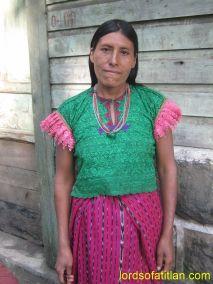 Woman fron San Andrés Sacabajá, El Quiché, finca Santo Tomás Perdido
