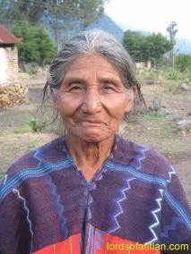 Woman from Zacualpa, El Quiché, finca Santo Tomás Perdido, San Lucas Tolimán