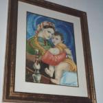 """Copia de: """"La Madonna della Seggiola"""" di Raffaello"""