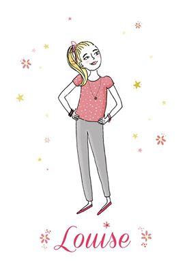 portrait personnalisé dessin personnage