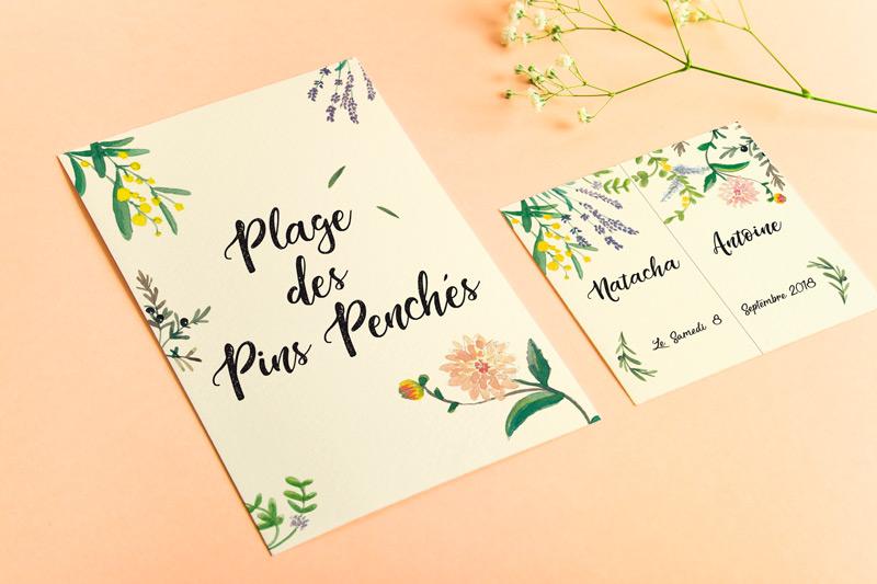 papeterie de mariage thème Provence