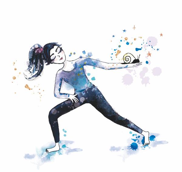 illustration develeoppement personnel et danse