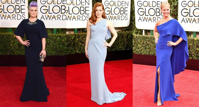 Golden-Globes-2015-Blue-Gowns