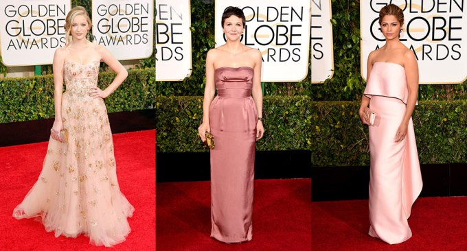 Golden-Globes-2015-Blush-Gowns
