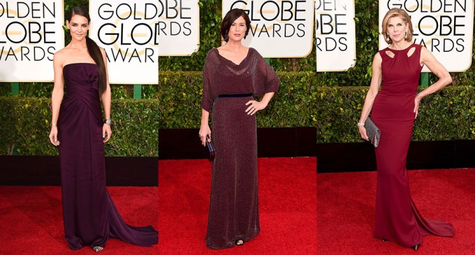 Golden-Globes-2015-Plum-Gowns