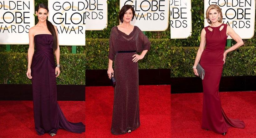 Golden-Globes-2015-Plum-Gowns