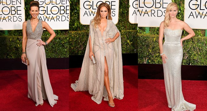 Golden-Globes-2015-Silver-Gowns