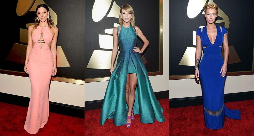 2015-Grammy-Awards-Katharine-McPhee-Taylor-Swift-Iggy-Azalea