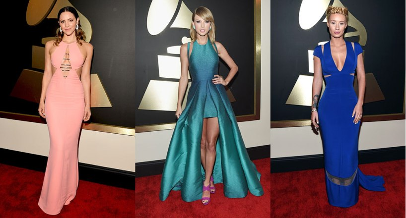 2015-Grammy-Awards-Katharine-McPhee-Taylor-Swift-Iggy-Azalea
