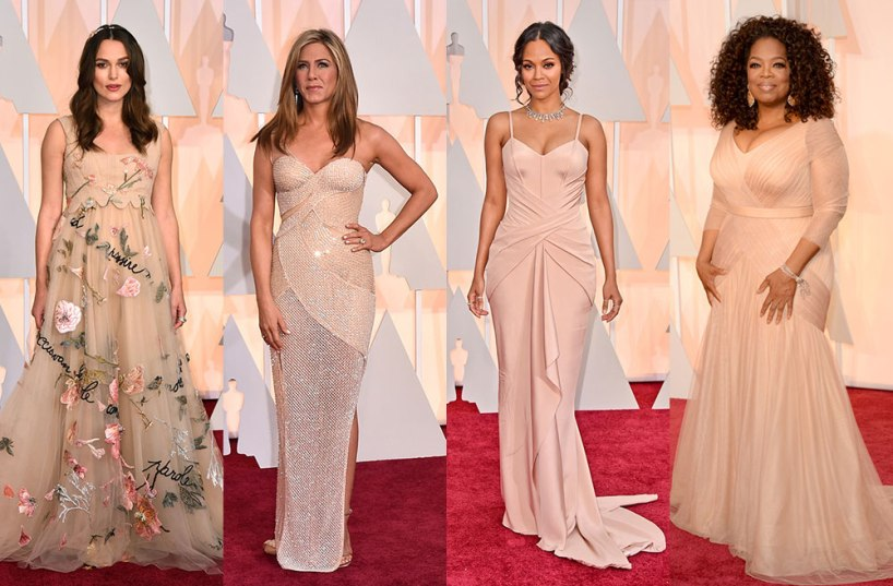 Nude-Blush-Dresses-2015-Academy-Awards-Red-Carpet
