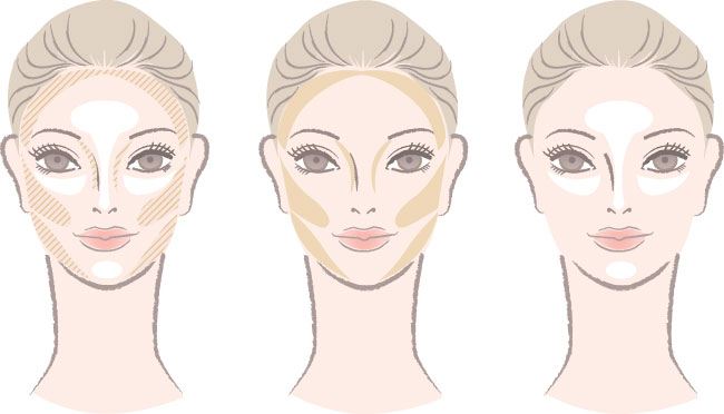 Image result for how to apply bronzer