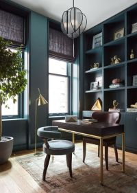 8 Powerful Colors to Paint Your Home Office - Loren's World