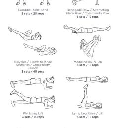 5 core workouts from pinterest pinterest pinterest workouts core workouts core [ 564 x 1764 Pixel ]