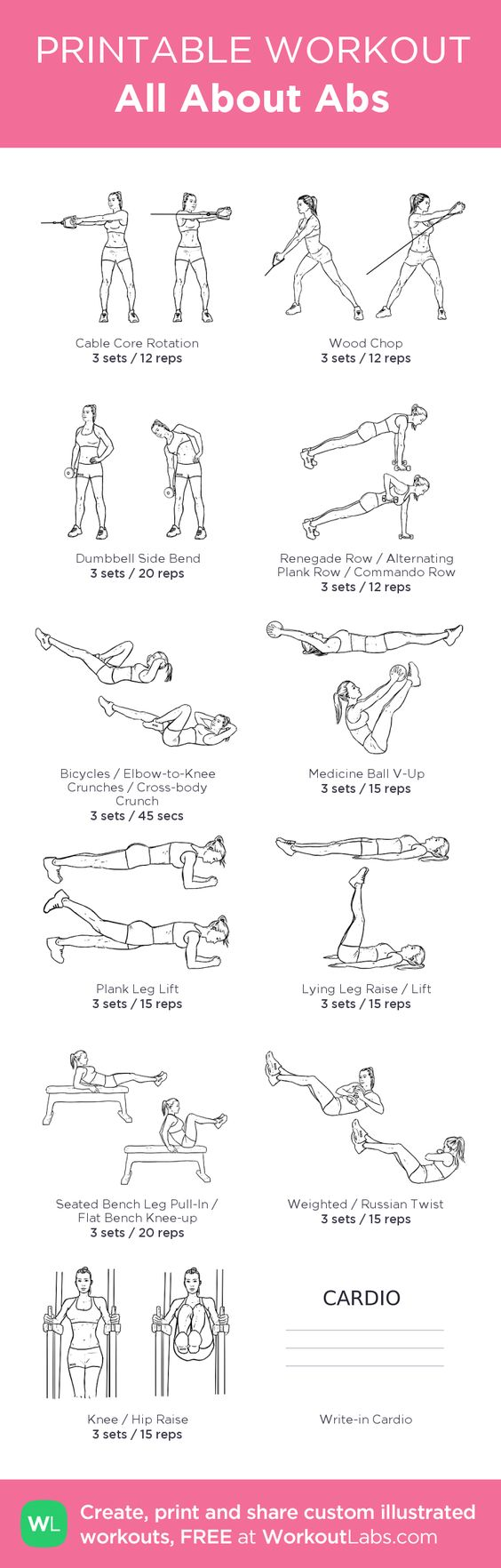 medium resolution of 5 core workouts from pinterest pinterest pinterest workouts core workouts core