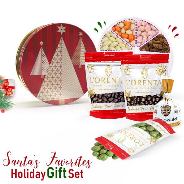 Santas-favorites-holiday-gift-sets-www Lorentanuts Com