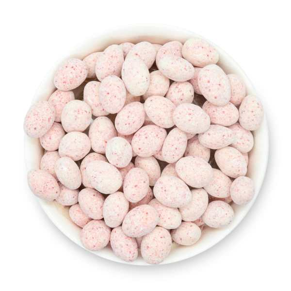 Candy-cane-almonds-bowl-top-view-www Lorentanuts Com Protein Punch