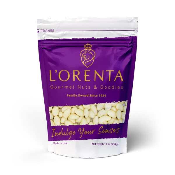 White-chocolate-coconut-almond-1-pound-front-www Lorentanuts Com