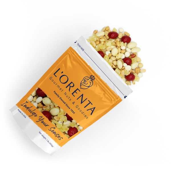 Pina-colada-top-view-www Lorentanuts Com Chocolate Trailmix