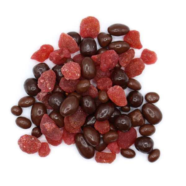 Strawberry-milkshake-top-www Lorentanuts Com Chocolate Trailmix