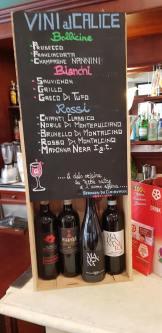 Lokal forhandler af 'vores' Brunello fra Madonna Nero