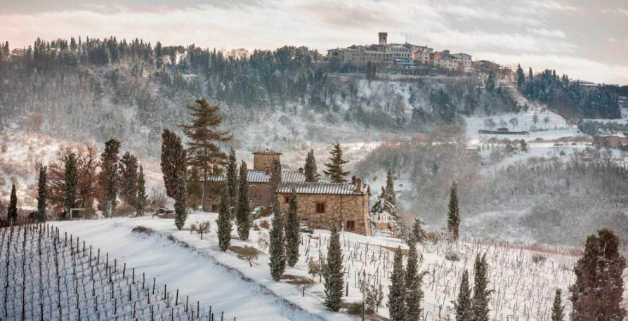 Vinter i Toscana