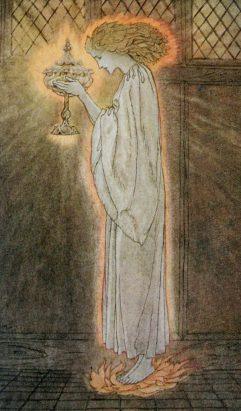 grail-maiden-artur-rackham-1917