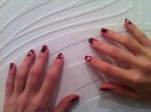 Marble nails effect