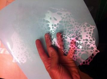 Intaglio stencil complessi con il plotter