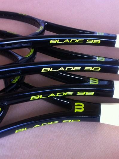 Wilson blade 98 su telai custom