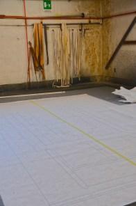Laboratorio di scenografia teatrale del Maggio Musicale Fiorentino, Disegni esecutivi delle scenografie
