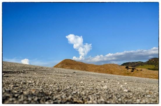 cemento, collina, cielo nuvola a Gibellina