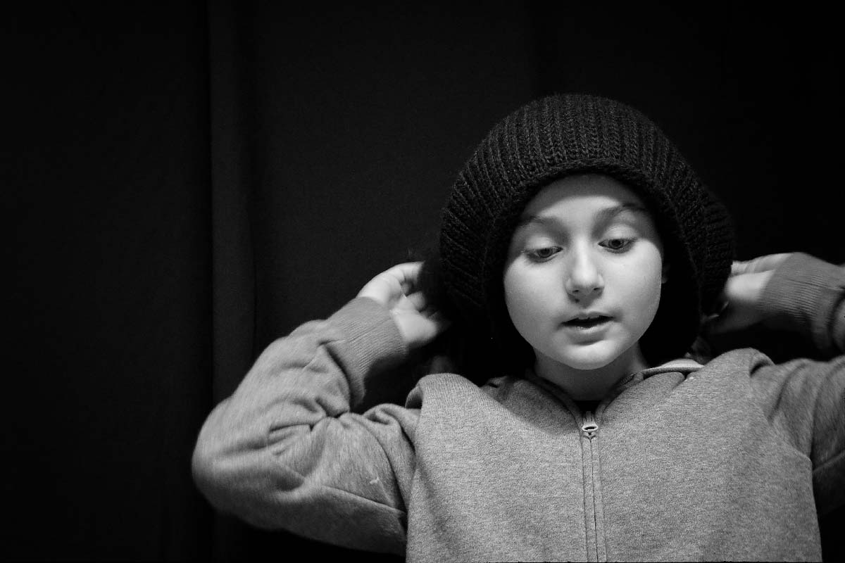 Daria Ritratto in bianco e nero
