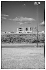 Stato di abbandono degli edifici a Gibellina Nuova
