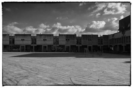 La piazza del Comune a Gibellina