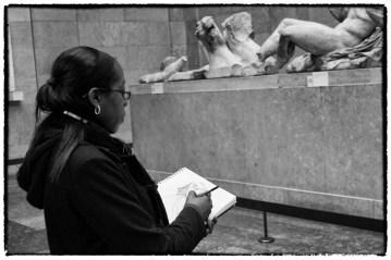 Schizzi dal vivo al British Museum