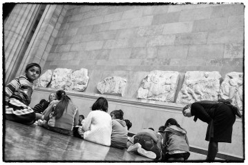 Bambini al British Museum