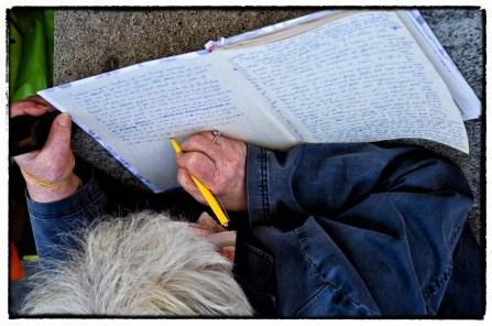 Romanzo scritto in strada