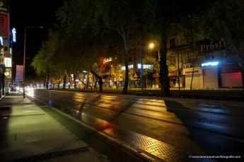 veduta notturna della città di SMIRNE