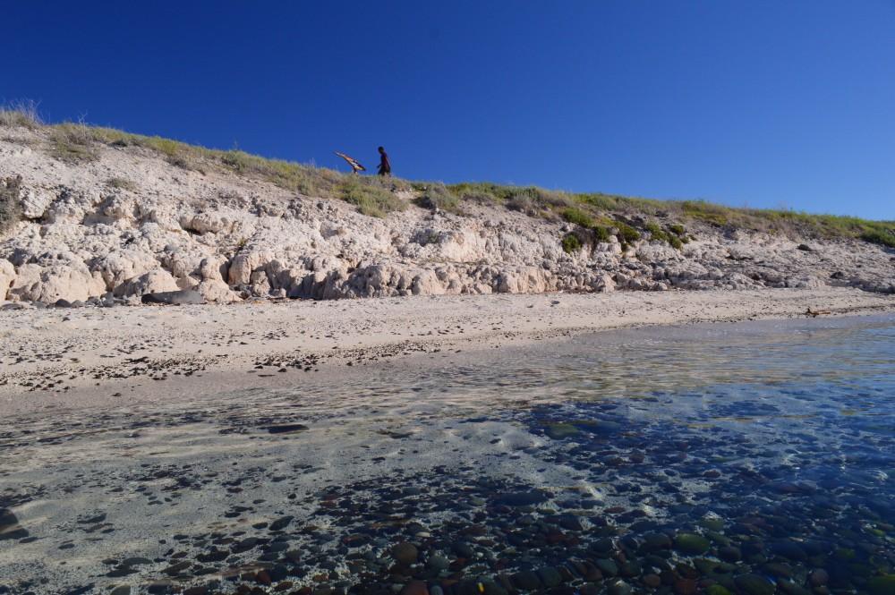 Islands part of Loreto Global Geopark