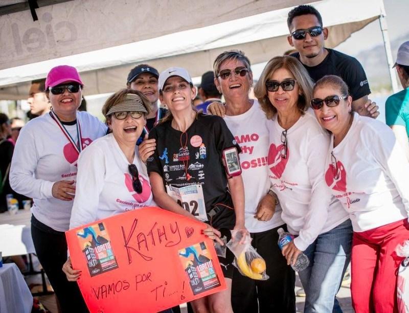 active women participation at Loreto's half marathon