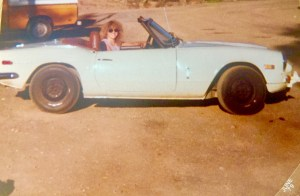 Me and my Triumph in 1979
