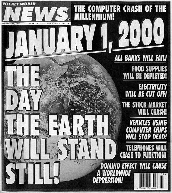 people did not know how to fix the issue of Y2K